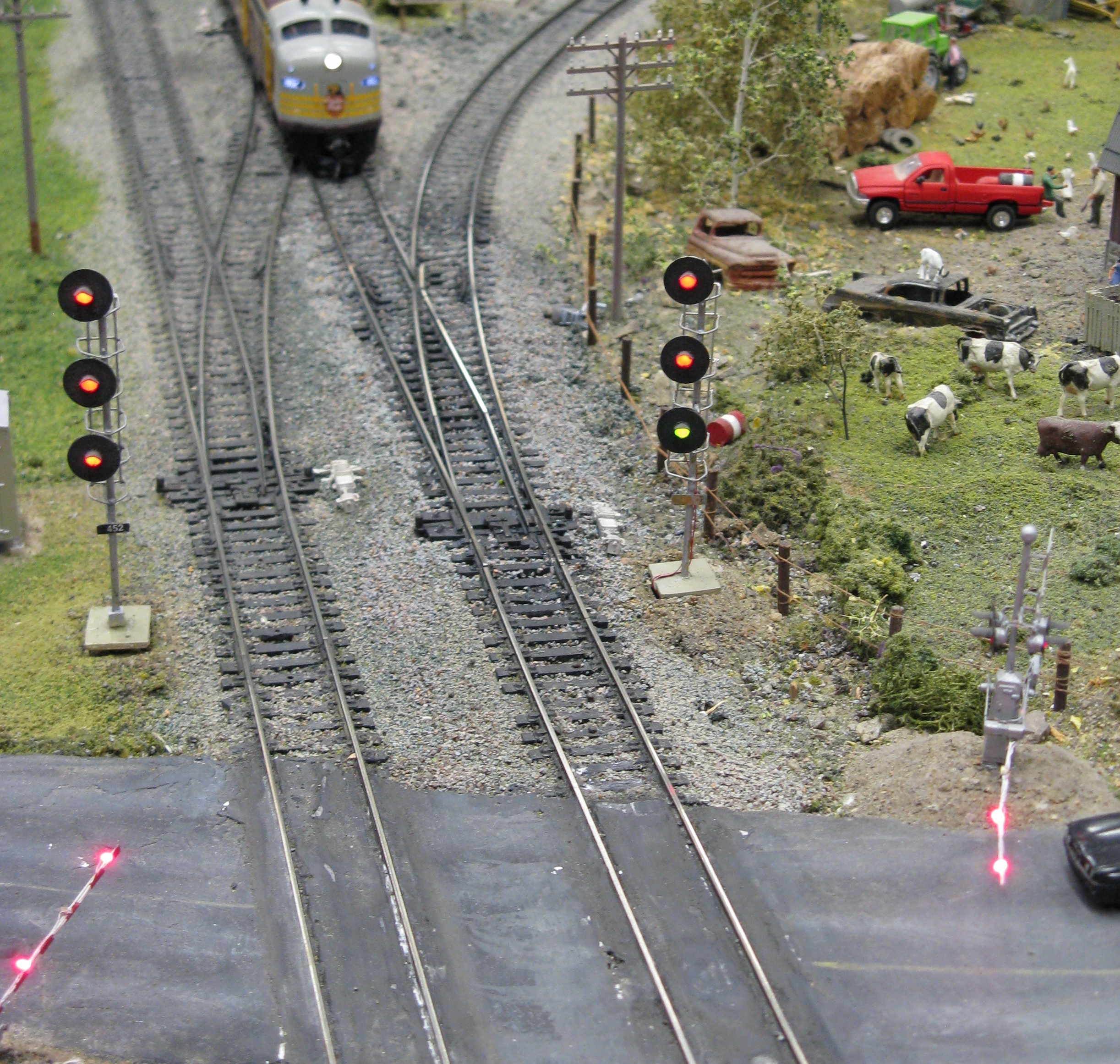 Model Railroad Signals